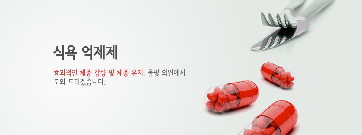 체중 조절 - 약물 치료 - 식욕 억제제 소개